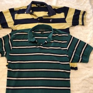 Collared shirt polo two pack